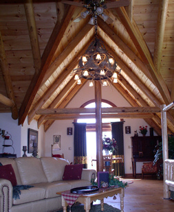 Full Round Rafters & Beams